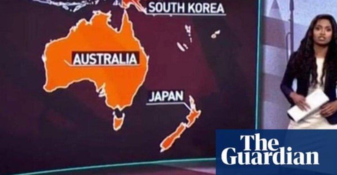 У Russia Today заплуталися в географії й назвали Нову Зеландію Японією