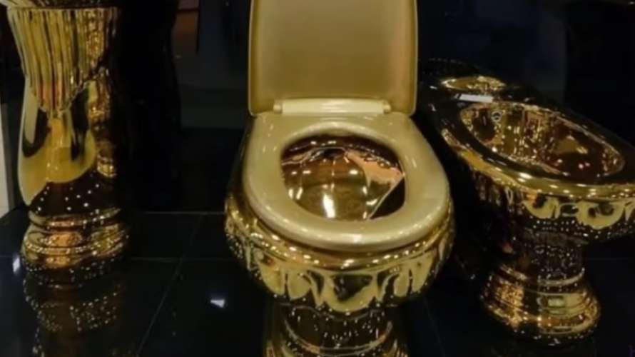 З всесвітньої спадщини ЮНЕСКО вкрали золотий унітаз