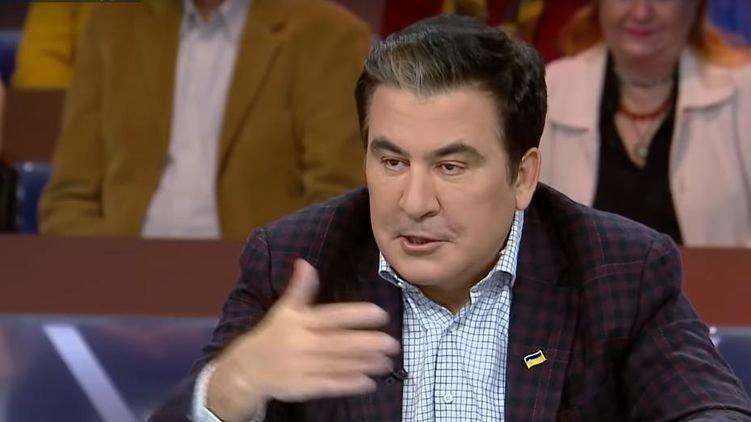 Саакашвілі заявив, що Україна розпадеться через олігархів на п'ять різних держав