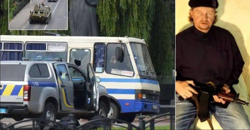 У Луцьку терорист захопив автобус й вимагає через заручницю відеозвернення від Зеленського