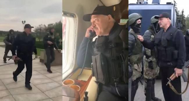 Приверженцы русского мира и экс-регионалы начали впадать в экстаз, увидев Лукашенко с автоматом: «вот бы так Янукович»