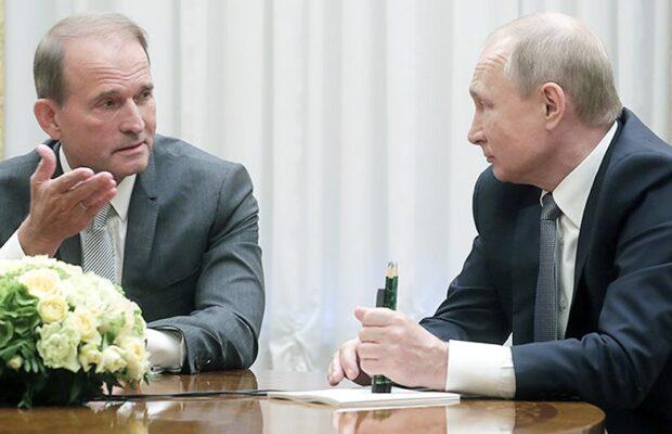 Медведчук під Москвою зустрівся з Путіним