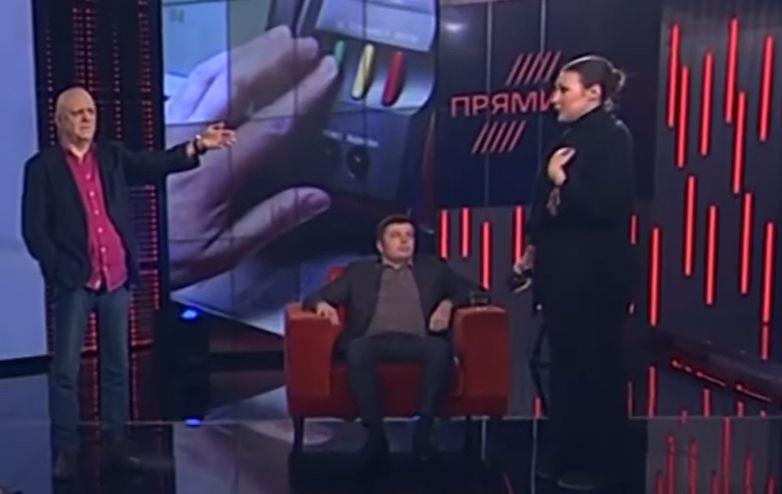 На канале Порошенко ведущий обвинил во лжи Федину. Видео скандала в прямом эфире