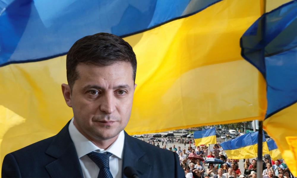 Ну а сейчас, Владимир Зеленский возвращает украденную собственность Украине