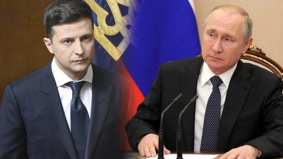 Зеленський пояснив, чому не телефонує Путіну щодо війни на Донбасі