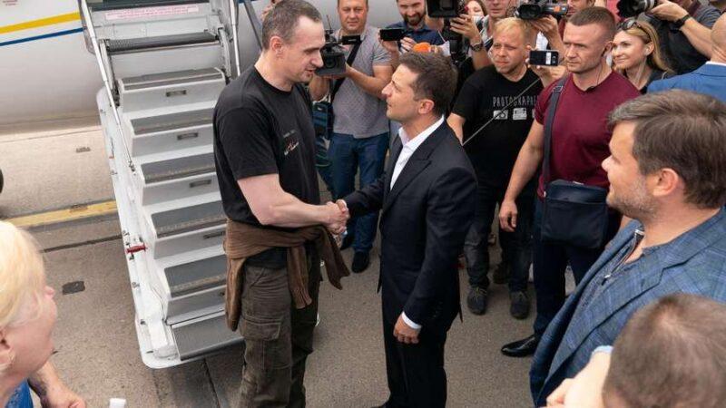 Сенцов заявив, що Зеленський знаходиться не на своєму місці