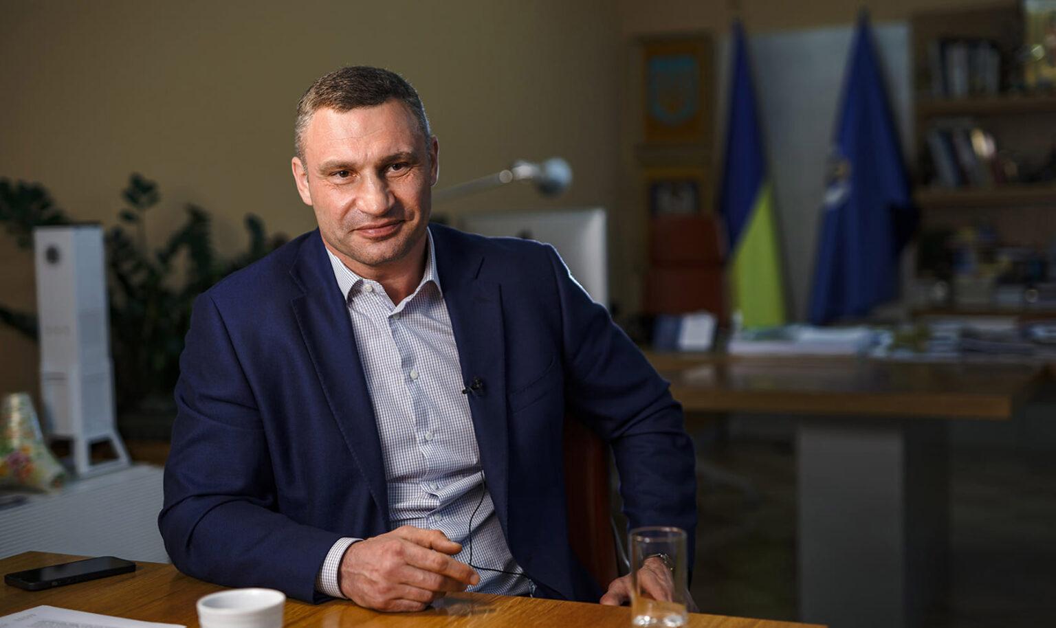 «Кто-то хотел во главе столицы на 100% своего человека, но есть на 100% человек киевлян» — Кличко